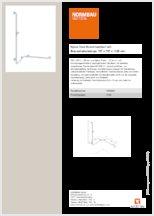 155 cm Gesamtl/änge LYNN lange flexible K/ühlschrankb/ürste aus Nylon und Edelstahl